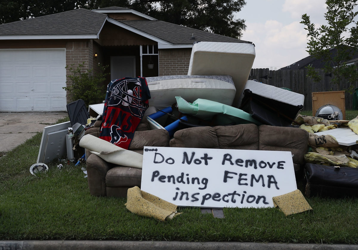 In Houston, Escalating Climate Costs Come Due in Harvey Recovery