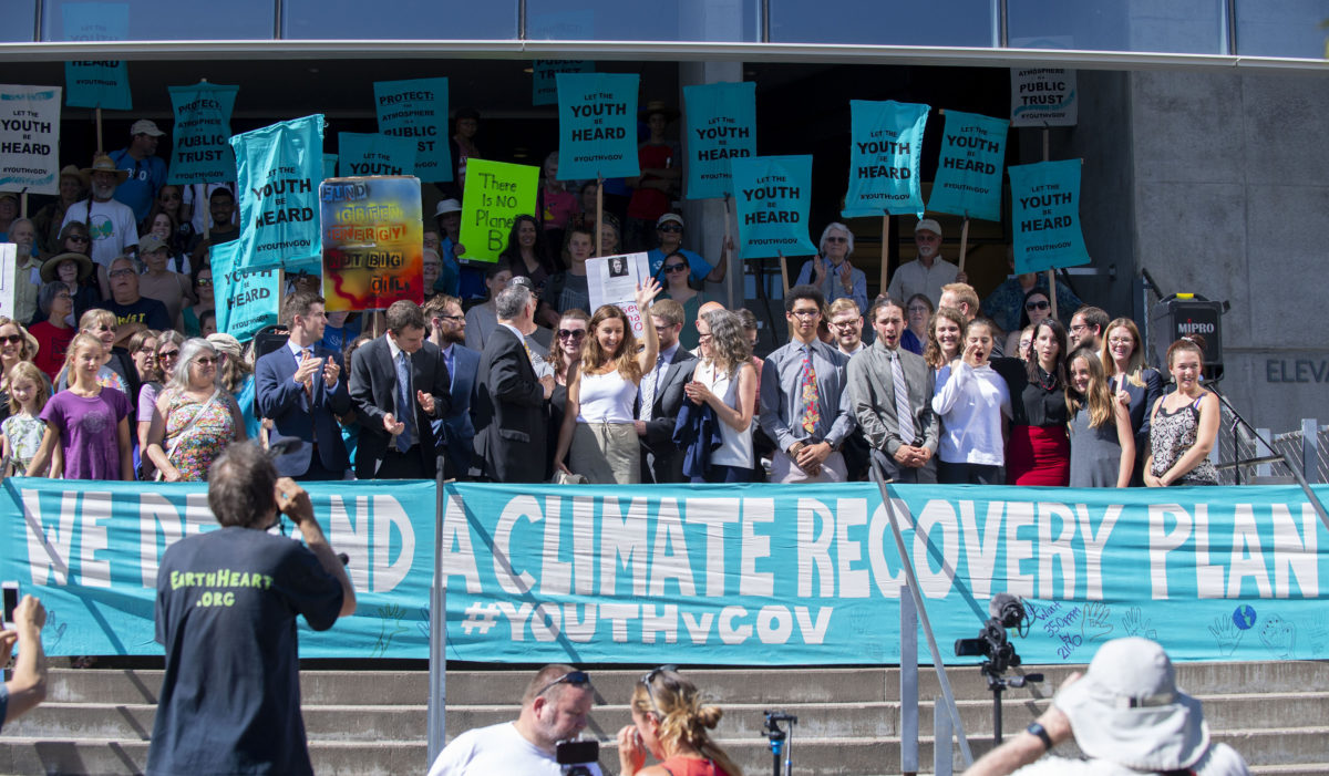 As Trial Looms, Trump Administration Still Trying to Stop Kids Climate Case