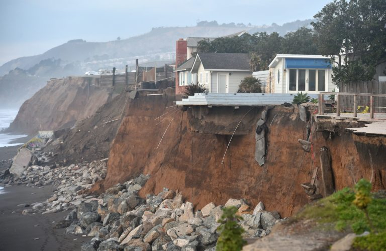 Coastal communities like Pacifica are struggling with climate costs from impacts like coastal erosion