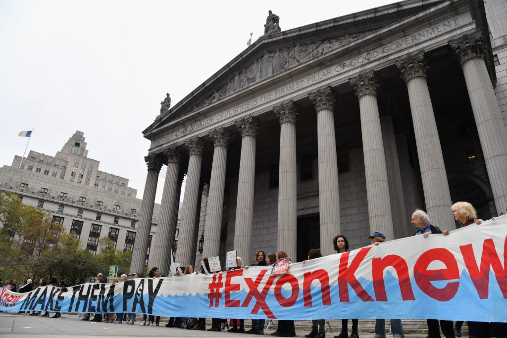 New York Opens Trial Accusing Exxon of Defrauding Investors on Climate Risks